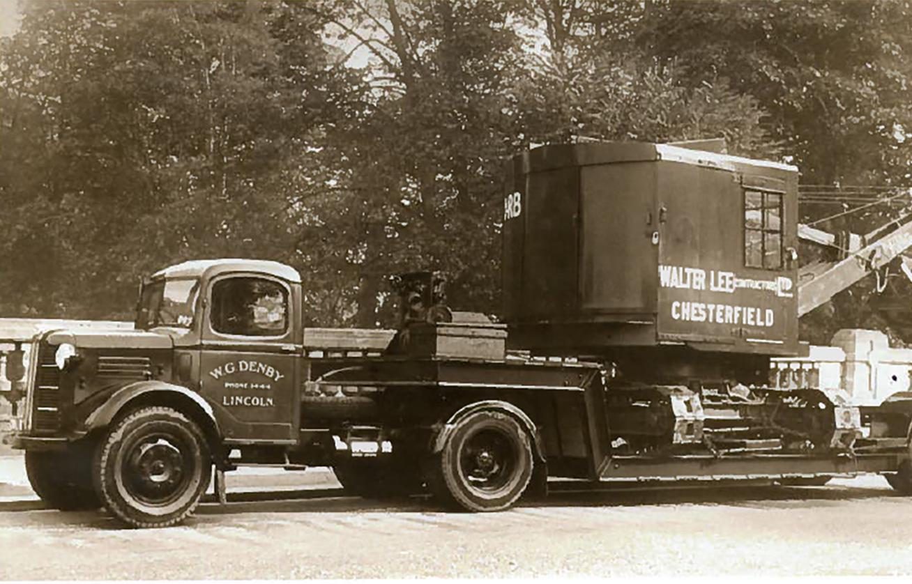 Vintage Denby Lorry