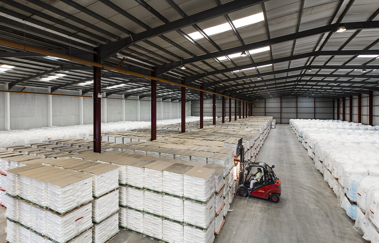 Denby warehousing facilities